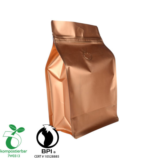 Material laminado Compostable Coffee Unique Packaging Fabricante China