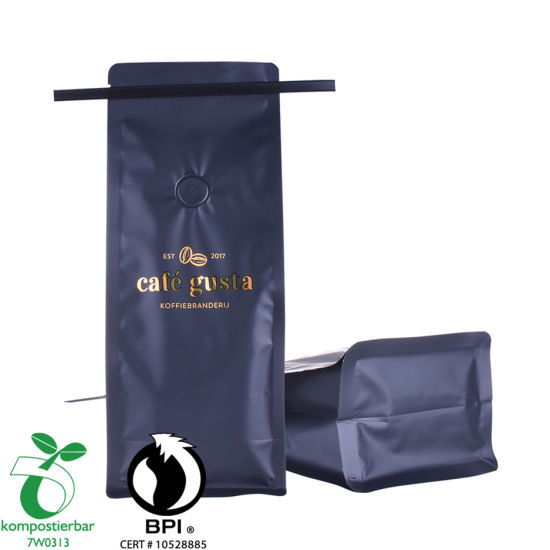 Alimentos Ziplock Bio Foil Coffee Bag Factory China