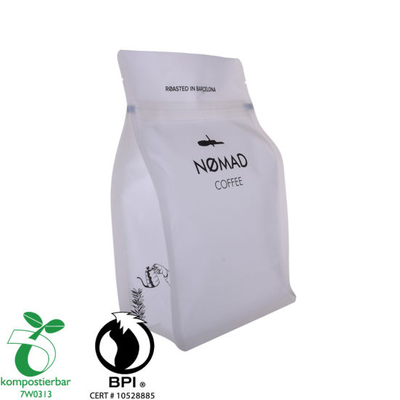 Buena capacidad de sellado Bloque de fondo Biodegradable Bolsa de empaque de té Fábrica China